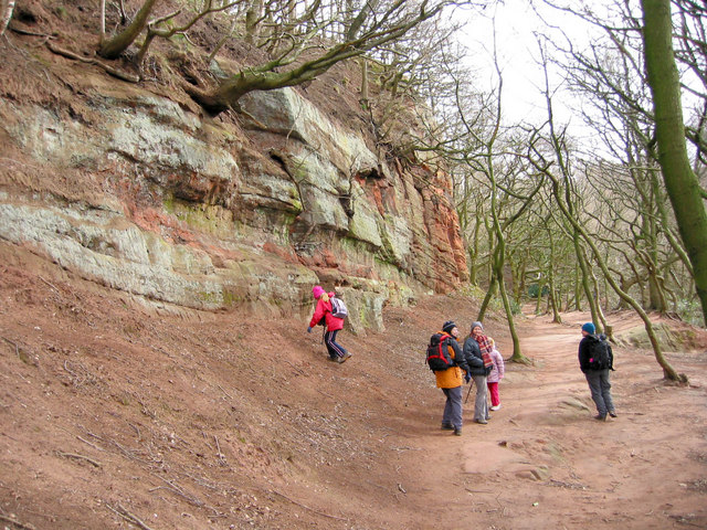 Walking on the Sandstone Trail