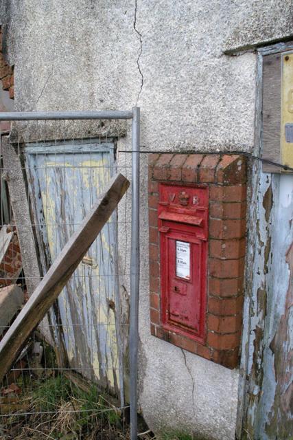 Oat Sheaf post box
