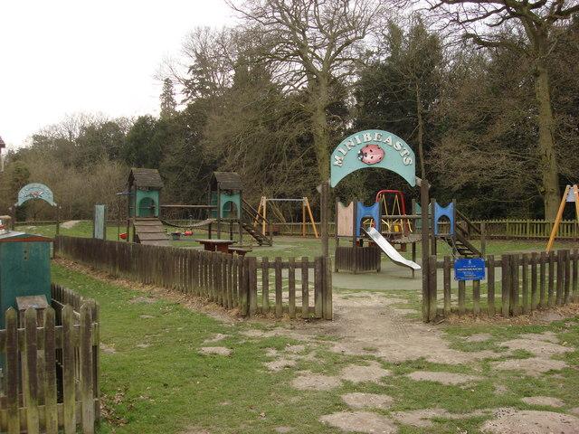Minibeasts play area, Nowton Park