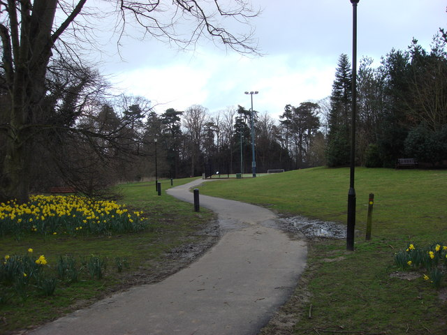 Footpath, Nowton Park