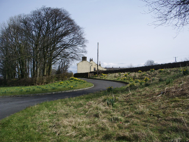 Access road to Sawley Grange
