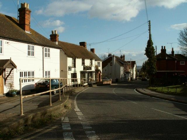 Part of Woodham Ferrers village