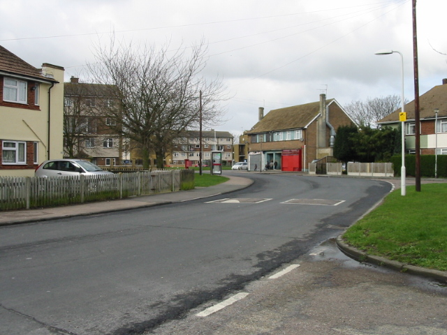 View along St John's Avenue, Newington, Ramsgate