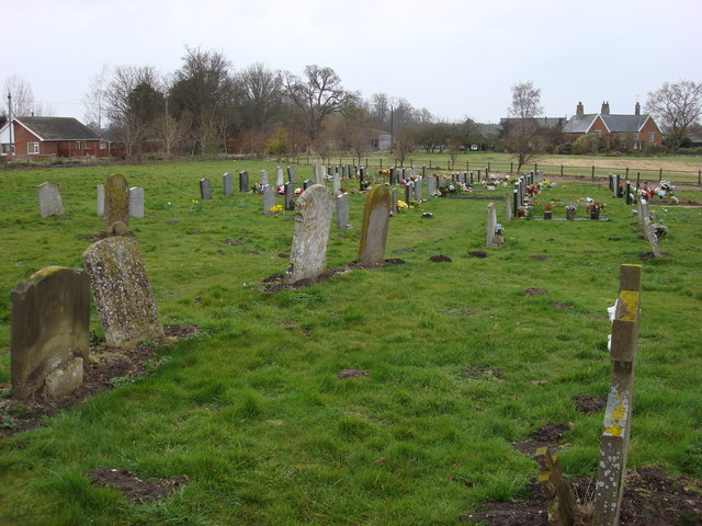 Graveyard, Weeting, St. Mary