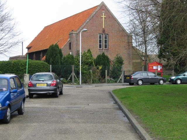 St Christopher's church, Newington