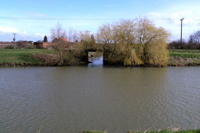 Pump house and sluice gate
