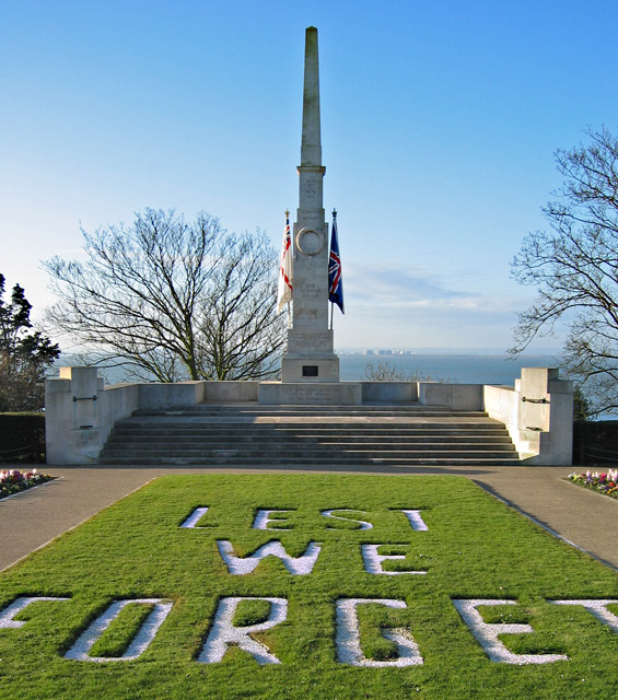 Southend-on-Sea war memorial