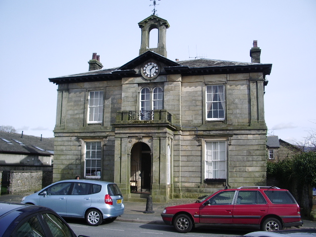 Building on the east side of Market Square, Kirkby Lonsdale