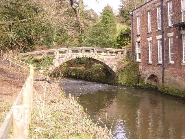 Packhorse Bridge at Quarry Bank Mill