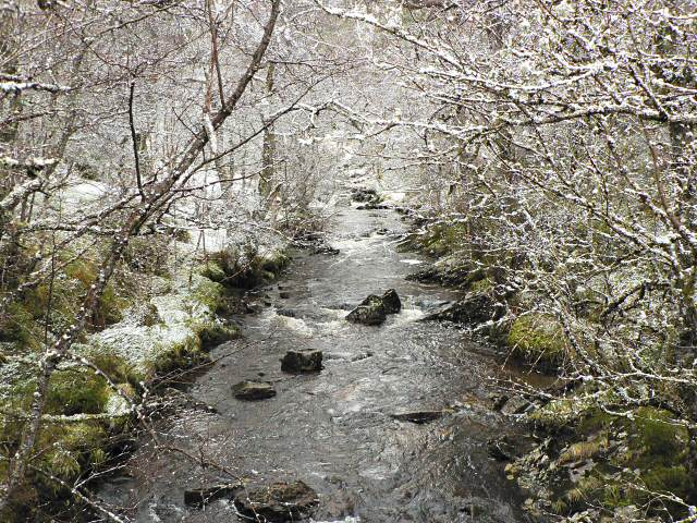 Dall Burn after a snow shower