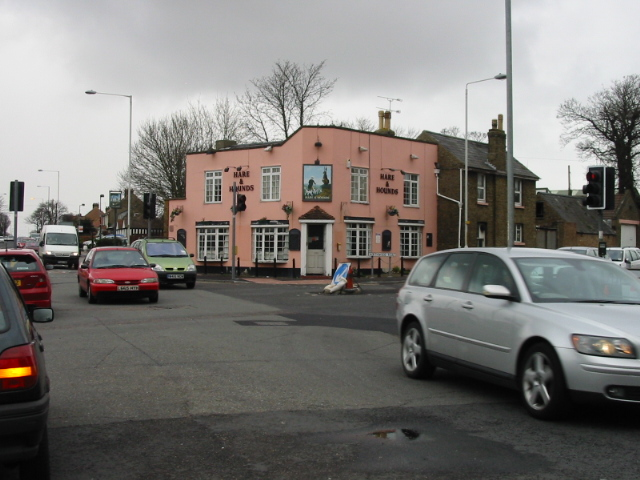 The Hare and Hounds pub on Margate Road