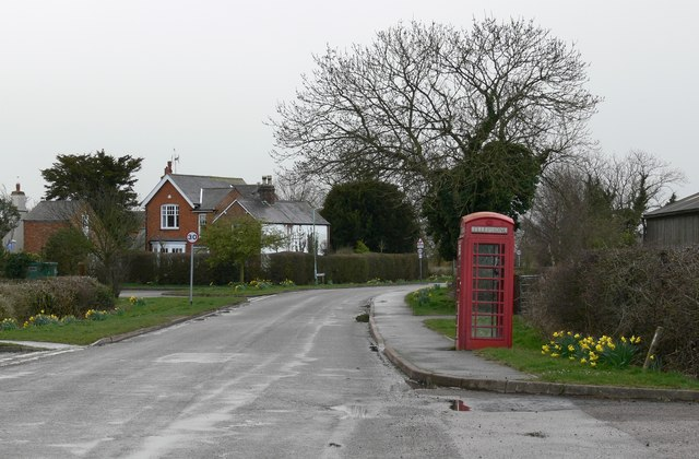 Lutterworth Road in Arnesby