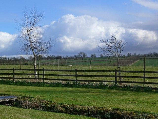 Farmland north of Arnesby Lane