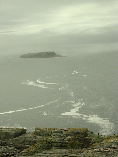 Haskeir Eagach from Haskeir Lighthouse.