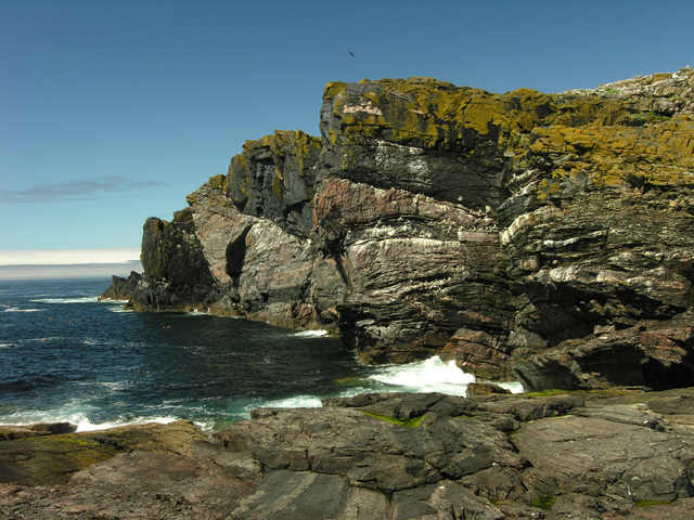 The Lewisian Gneiss of North Castle, Haskeir