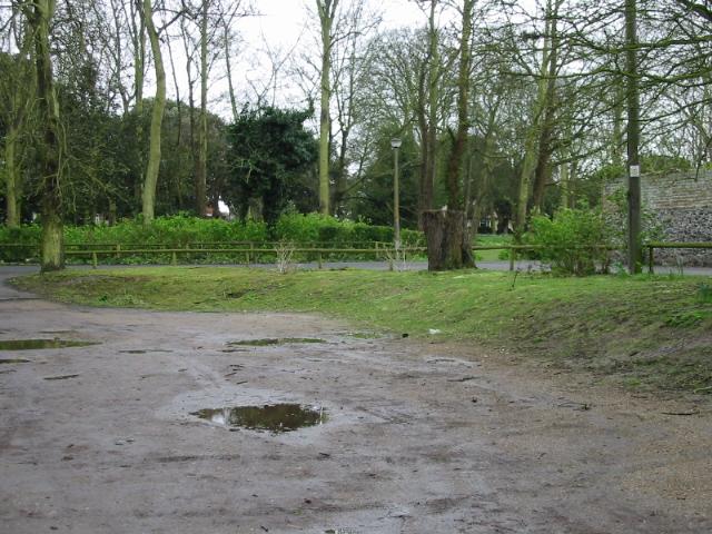 Car parking area near Northdown Park