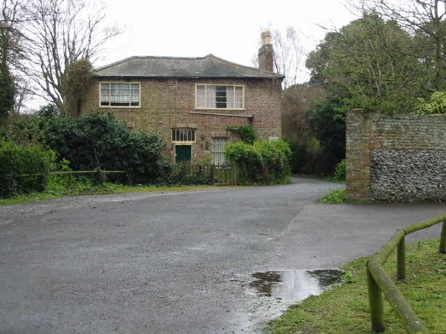 The Coach house on the road to Northdown House