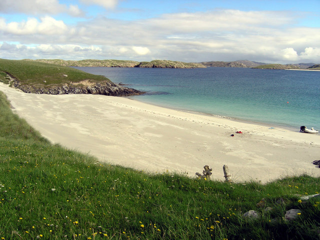 Beach on Pabbay Mor