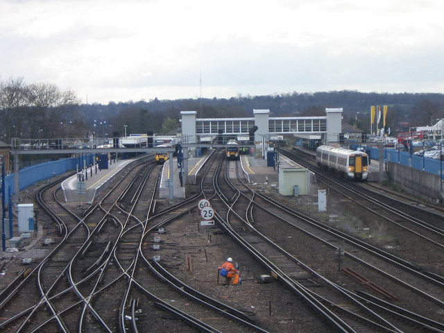 Orpington Station from the north