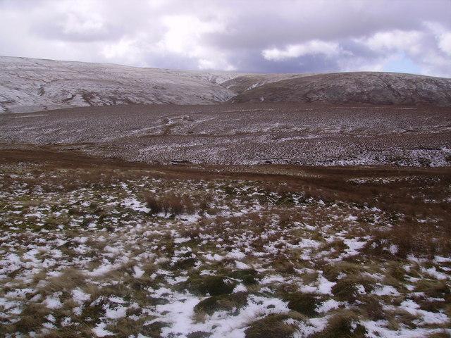 Descending Swarth Fell Pike