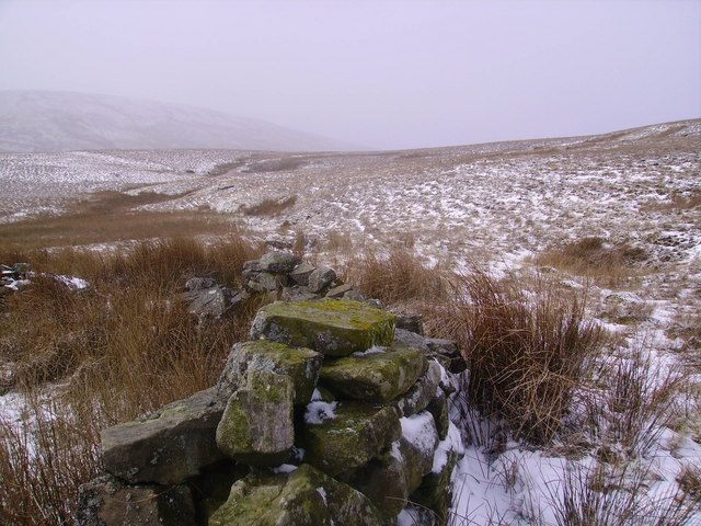 Sheepfold Under Holmes Moss Hill