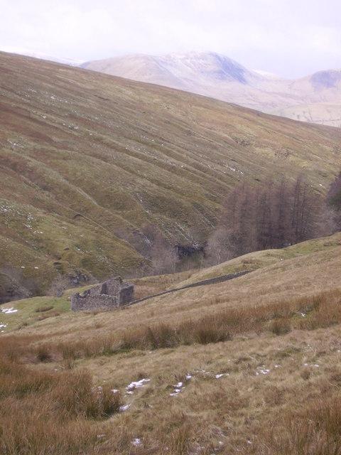 Ruin, River Rawthey