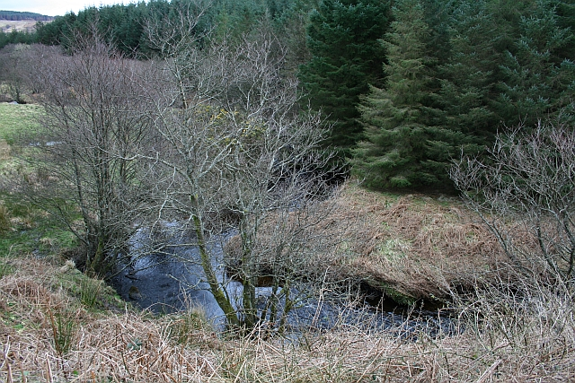 Bend in the Ballochroy Burn