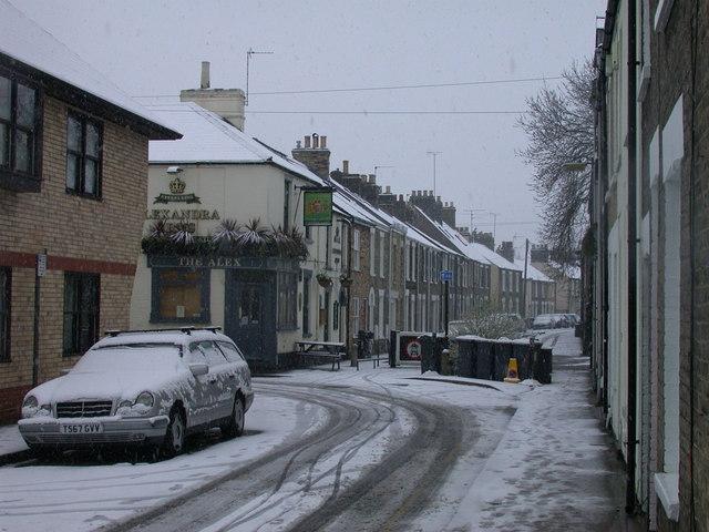 Gwydir Street, Easter 2008