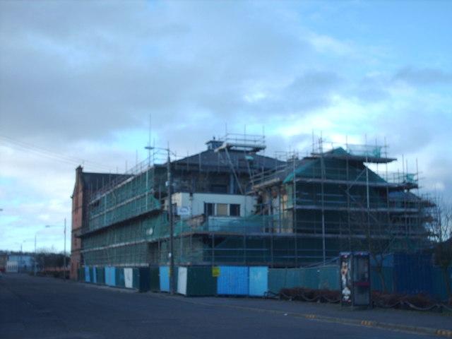 Former Orkney Street Police Station.