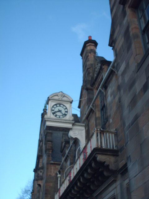 Pearce Institute Clock