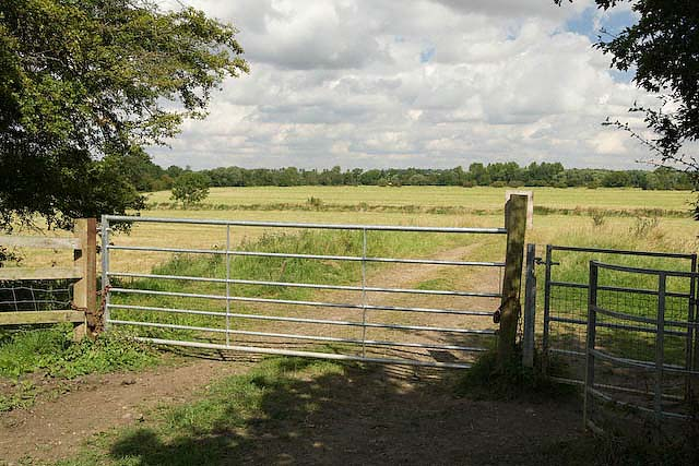 Track leading to the Ouse Valley plain