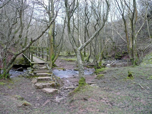 Footbridge over the Honddu