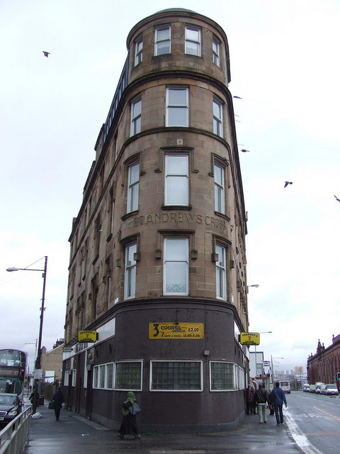 Eglinton Toll (St Andrew's Cross) Glasgow