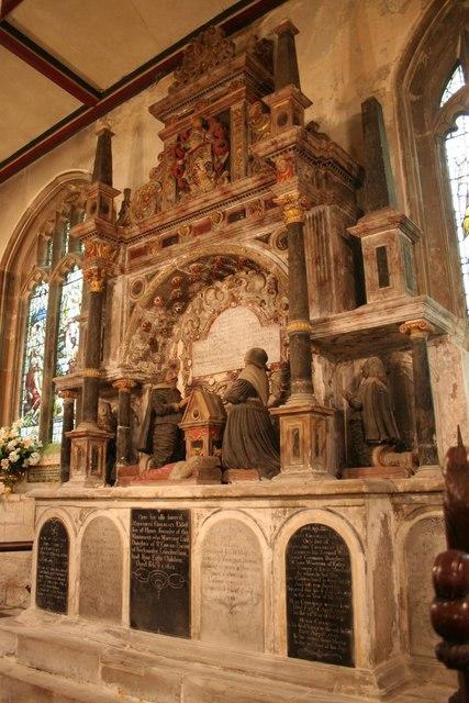 Cholmeley tomb