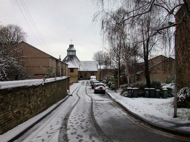 Geldart Street after the snow