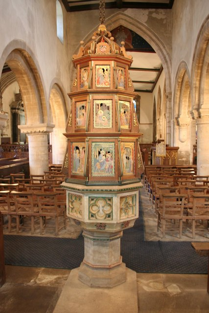 St.Mary & St.Andrew's font