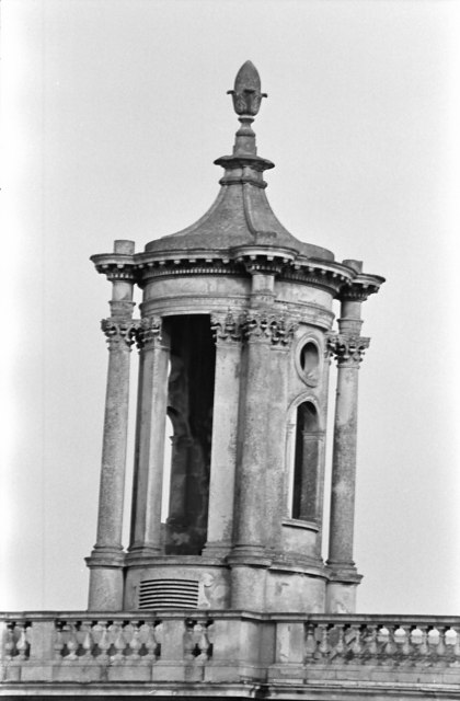 The slightly askew tower of Normanton Church
