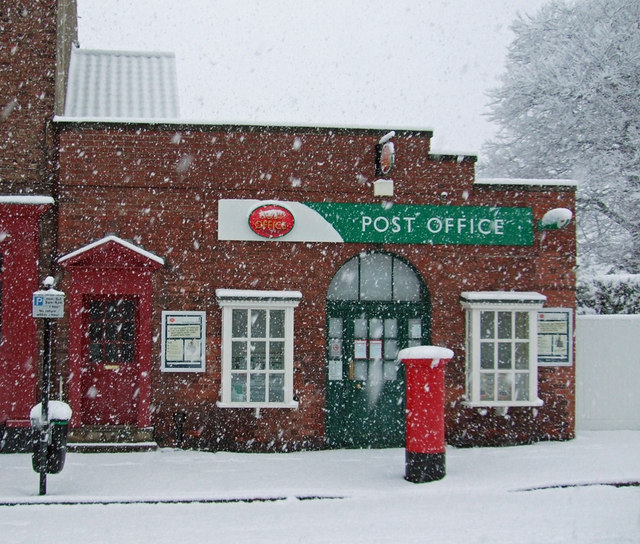 Burgate Post Office, Easter Sunday 2008