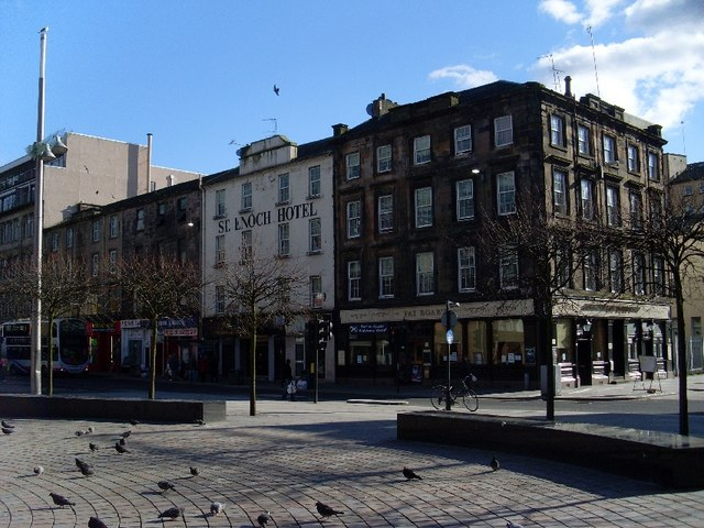 Buildings on Howard Street, Glasgow