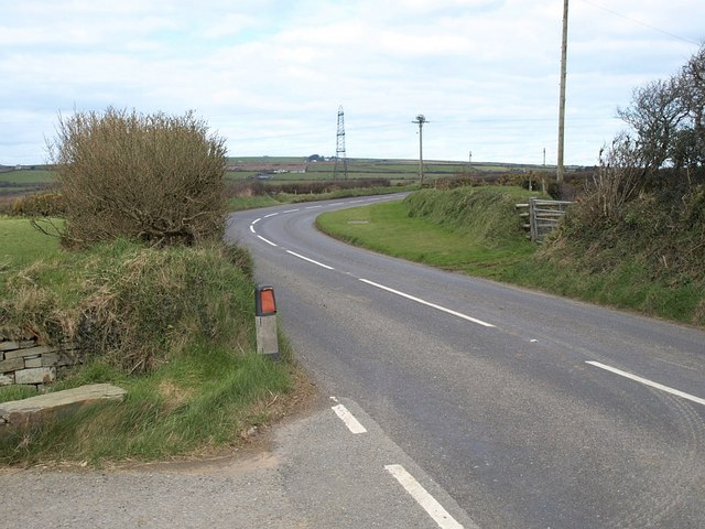 B3266 north of Camelford