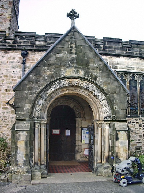 St Mary's Church, Kirkby Lonsdale, Porch