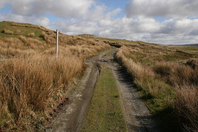 Footpath near Tomen-y-mur