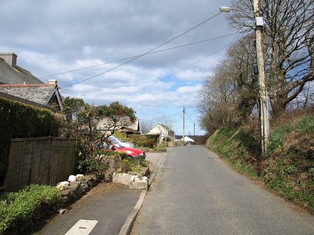 Trefrew Road, Camelford
