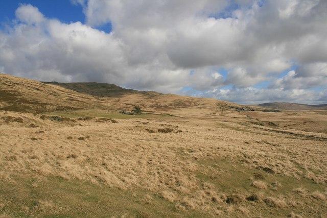 Landscape near Tomen-y-Mur