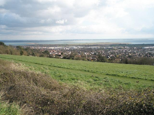 Common land on Portsdown Hill