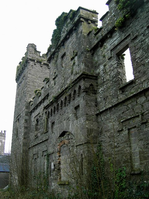 West face of keep, Macroom Castle