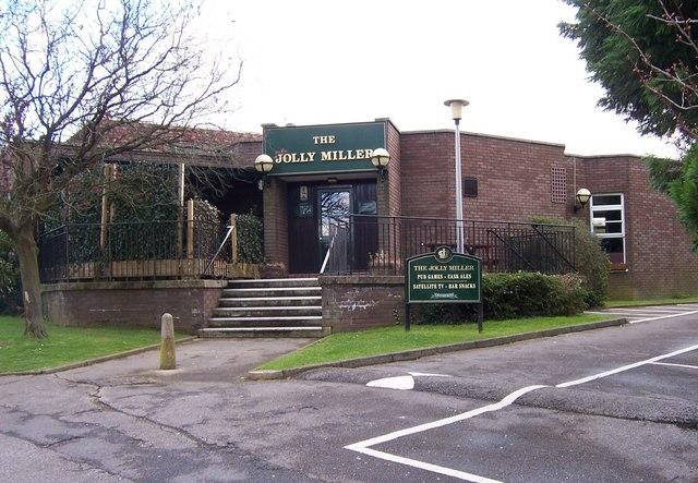Jolly Miller Pub, Miller Dr.-Fareham