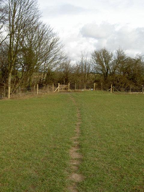 Footpath near Storeton.