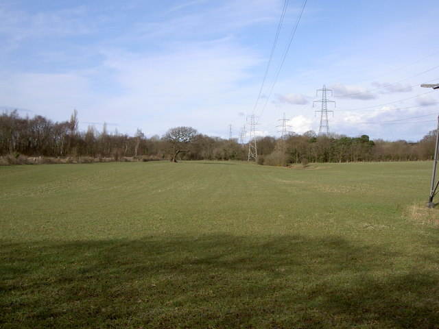 Farmland near Storeton