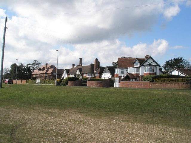 Impressive houses in Portsdown Hill Road